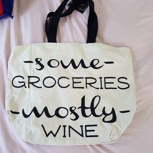 Handbags - NEW Huge whimsical fun canvas tote bag